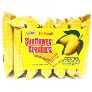 Sunflower Crackers – Mango 7x27g