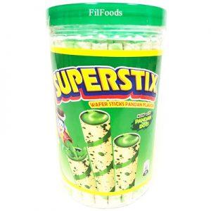 Superstix Wafer Sticks Pandan Flavour