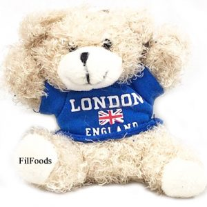 Keyring – Teddy Bear – London England