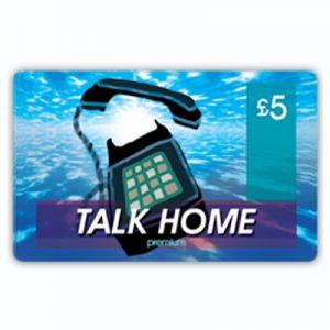 Talk Home Phonecard £5