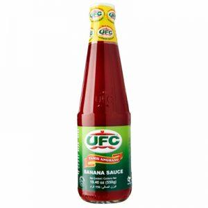 UFC Banana Ketchup Tamis Anghang 550g