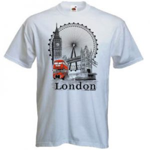 London Tshirts – Large
