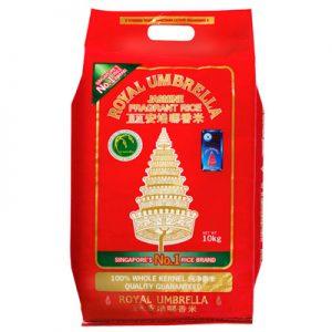Royal Umbrella Thai Hom Mali Jasmine Rice 10Kg