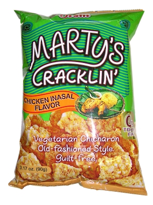 Oishi Marty's Crackling Chicken Inasal Flavo