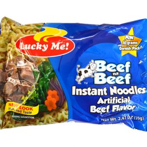 Lucky Me Instant Beef Noodles