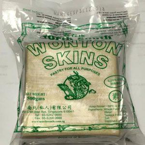 North South Wonton Skin (Soup)