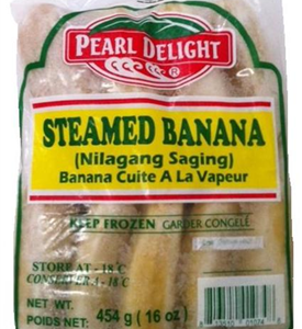 Pearl Delight Steamed Banana (Saging na Saba)