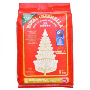 Royal Umbrella Thai Hom Mali Jasmine Rice 5Kg