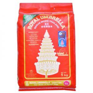 Royal Umbrella Thai Hom Mali Jasmine Rice 5Kg
