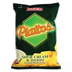 Piattos Sour Cream & Onion