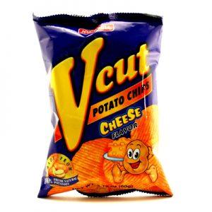 V-Cut Potato Chips – Cheese 60g