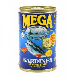 Mega Sardines Spanish Style