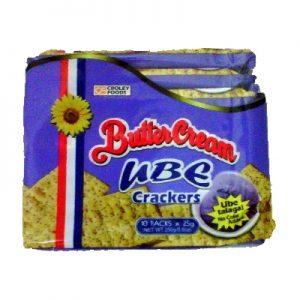 Butter Cream Crackers Ube