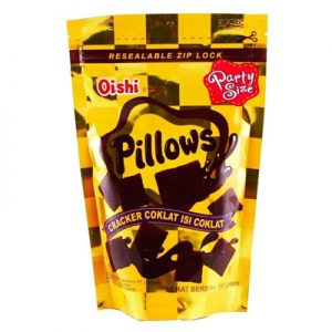 Oishi Pillows Chocolate 150g
