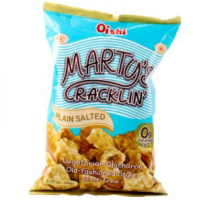 Oishi Marty's Crackling Plain Salted