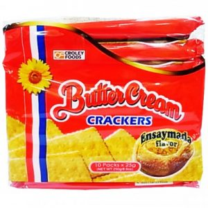 Butter Cream Crackers Ensaymada