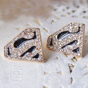 Superman Earring