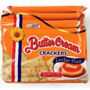Sunflower Butter Cream Crackers – Leche Flan