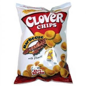 Clover Chips Barbeque 145g