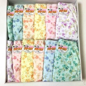 SO-EN Panty (Floral/Printed) 12s