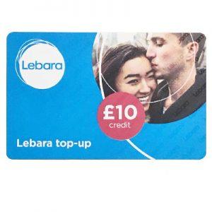 Lebara Top-up Card £10