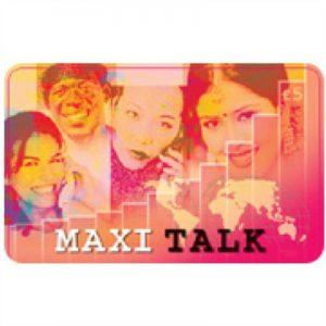 Maxi Talk Calling Card £5