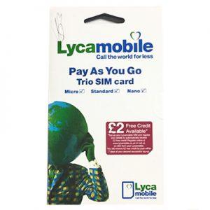 Lyca Sim Card