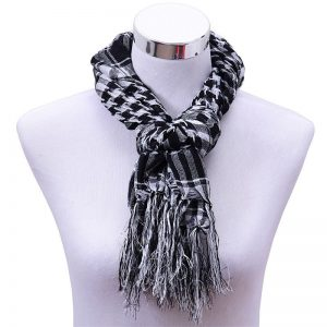 Bamboo's Look Alike Scarf – Black &#03