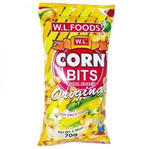 Corn Bits Super Garlic Flavor Original 70g