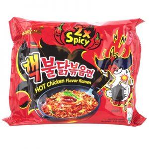 Samyang Hot Chicken Flavor Ramen (2x Spicy)