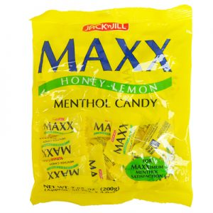Jack n Jill Maxx Honey Lemon Menthol Candy 50pcs