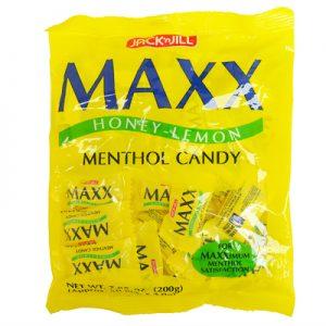 Jack n Jill Maxx Honey Lemon Menthol Candy 50pcs