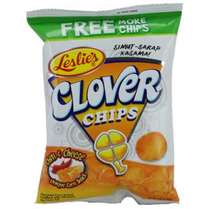 Clover Chips Chili & Cheese 85g