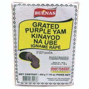 Buenas Grated Purple Yam (Kinayod Na Ube) 454g