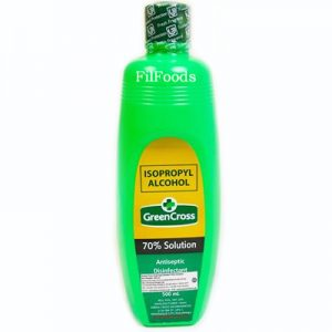 Green Cross Rubbing Alcohol (70% Solution) 500ml