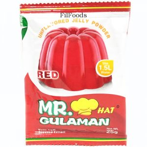 Mr Gulaman Unflavoured (Red)