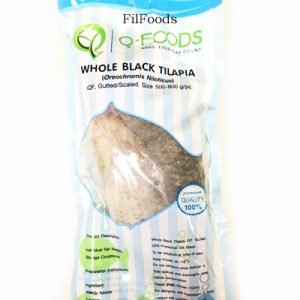 Q-Foods Whole Black Tilapia 50...