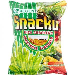 Regent Snacku Rice Crackers 60g
