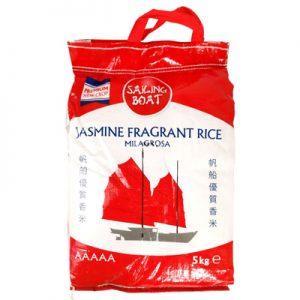 Sailing Boat Jasmine Fragrant Rice 5Kg