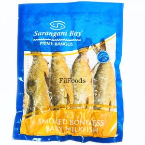 Sarangani Bay BABY SMOKED BONELESS Milkfish (320-5