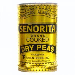 Senorita Cooked Dry Peas