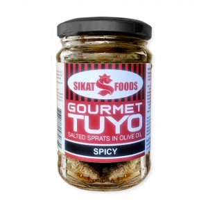 SikatFoods Gourmet Tuyo – Spicy