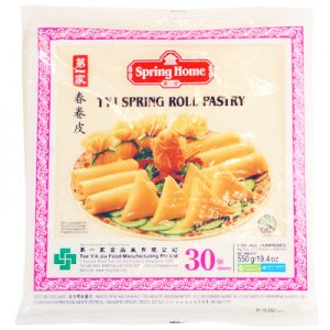 TYJ Spring Roll Pastry 10″x10″ (30 She