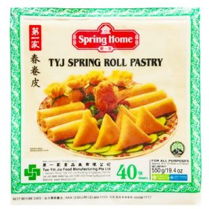 TYJ Spring Roll Pastry (Lumpia Wrapper) 8″x8