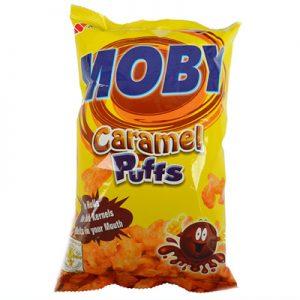 Moby Caramel Puffs 60g