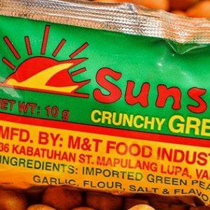 Sunshine Green Peas 12x8g