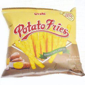 Oishi Potato Fries Plain Salte...