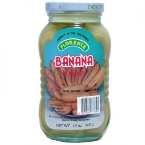Florence Banana In Syrup