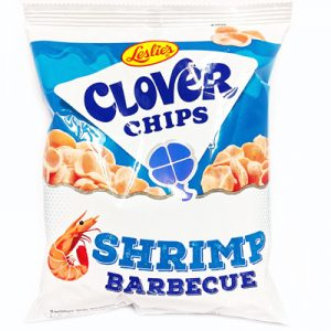 Leslie's Clover Chips Shrimp Barbecue 50g