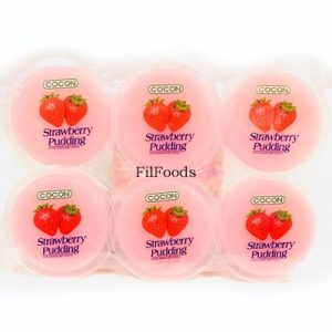 Cocon Nata de Coco Pudding – Strawberry 6x80